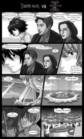 Death Note VS X-files by Veinctor
