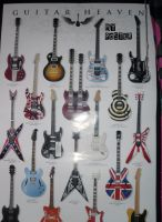 My guitar poster by DanniCat43434