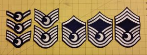 First 4 Lunar Rank Patches by EthePony