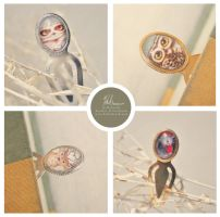 Animal Bookmarks by helloheath