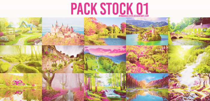 [090315] Pack Stock 01 by MinhKhue2209