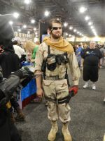 Phoenix Comicon 2014 Big Boss by Demon-Lord-Cosplay