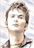 David Tennant mini-portrait by whu-wei