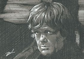 Tyrion Lannister sketch card by Ethrendil