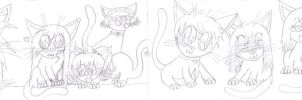 Tales of the Abyss Kitties WIP by yuzikiXD