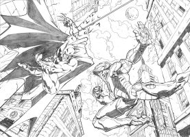 Batman vs Ironman by marvelmania