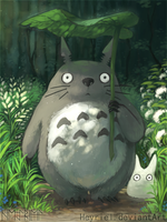 My Neighbor Totoro by Heyriel