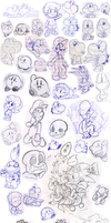 Doodles 11 by Nintendrawer