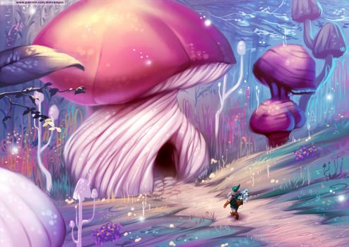 Sanctuary Mushroom (pack06) by alanscampos