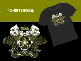 T-Shirt graphics by orioncreatives