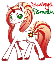 Starlight Poinsettia by Katyenka-Svetlana
