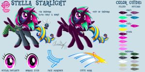 Stella Starlight Reference 1 by CaptRicoSakara