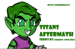 Titans Afternath With Chibi Beastboy by sandburial913