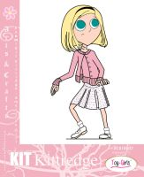 Toy Girls - Arts n Crafts Series 7: Kit Kittredge by mickeyelric11