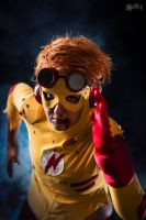 Kid Flash: R U N by Gixye