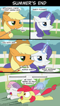 MLP Summer's End by LoCeri