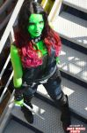 Gamora - Guardians of the galaxy by CristalCosplay