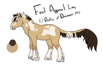 #310 foal design by XTwilight-SerenityX