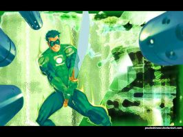 Green Lantern fun by pauloskinner