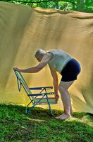 2015-06-10 Beach Chair Poses 38 by skydancer-stock