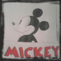 Mickey's Rough Drawing 2 by OswaldGirl