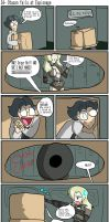 Otacon fails at Espionage by BrokenTeapot