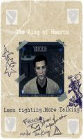 The King of Hearts- FO Card by AgentAlpha