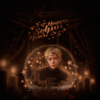 Sehun from EXO / New Year by designML