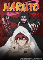 Kankuro_and_Sasori by LadyGT