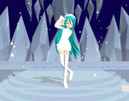 Winter Miku MMD Download by Pokeluver223