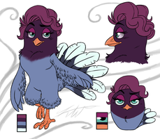ANGRY BIRDS Kadence REF SHEET by KasaraWolf