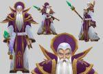 Antonidas model for Warcraft 3 by arcane-villain
