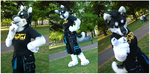 Husky Half-suit by FarukuCostumes