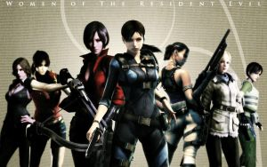 Women of the Resident Evil! by TheGalleryChronicles