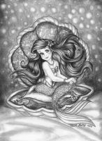 Ariel in a Shell by linus108Nicole