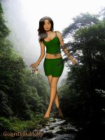 Giantess Milly by TheWiking2000