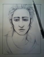 Tom Hiddleston sketch by MokkunChan