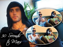 30 Seconds to Mars Wall 144 by martiansoldier