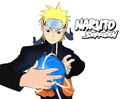 Naruto White Background by Tefrin