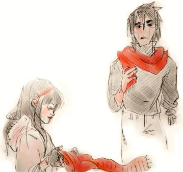 Scarves and Sleeves by lila-me