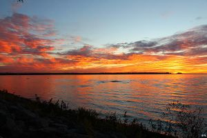 Fall Sunset Series #57 by LifeThroughALens84