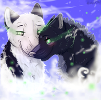 Wolf Tenderness by Tam-Green