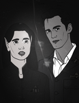 A Portrait of Alessandra and Peter by Izaak94