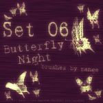 Set 06 - Butterfly Night by pange