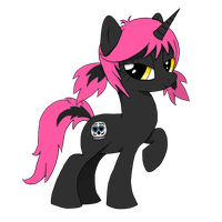 MLP OC - Sugar Skull by Raidom312