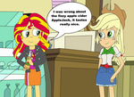 Second Thoughts On Fizzy Apple Cider by equestriaguy637