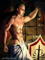 Dragon Age: Cullen After The Fight by JerHopp