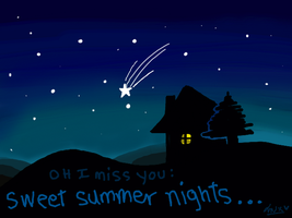 I miss those summer nights by mxlove