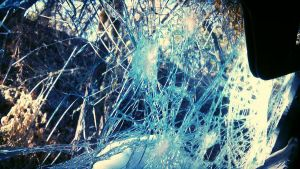 Spider's Web of Glass  by SLJones-photo