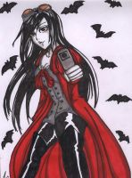 Alucard chooses Booby Card by StrawberryLoveAlways